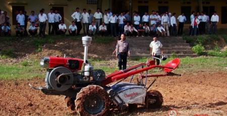 Cơ khí nông nghiệp bao giờ giữ thế chủ động